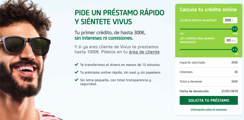 Vivus.es Préstamos Rápidos sin papeleos ni nóminas